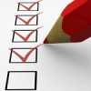Checklist model for US application packet