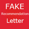 FAKE Recommendation letter caught in NYU