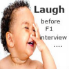Laughter the best exercise before US F1 Visa interview…?