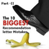 Common mistakes in Indian students recommendation letter – Part II