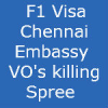 Chennai Embassy F1 Visa interview – VO's Killing Spree – Chemical Engineering