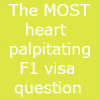 US F1 Visa interview-The MOST heart palpitating question -Kolkata Consulate