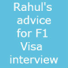 Rahul's 4 Golden advice for USA F1 Visa interview