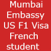 Mumbai F1 Visa Stamping for French Student – Arizona State University