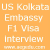 USA F1 Kolkata embassy Visa interview:Are you going to need-blind university?