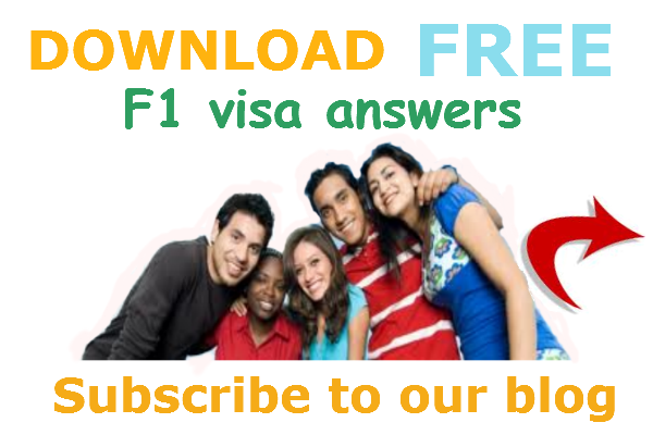 US F1 Visa questions and answers - Free download