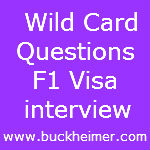 You Are One Of The International Student Appearing For Visa Interview And  You Get Questions ...